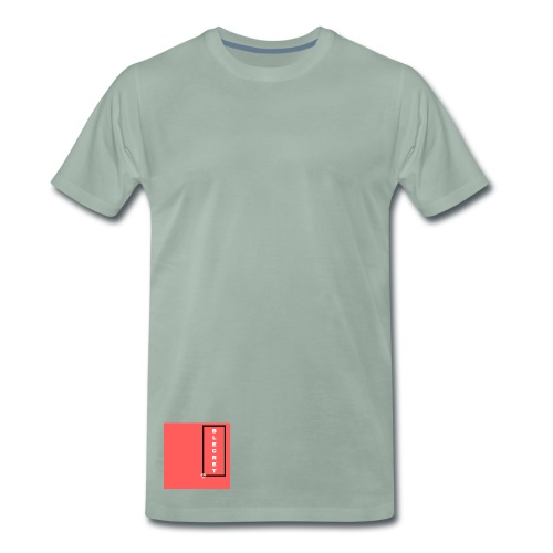 BLECRET - Salmon - Men's Premium T-Shirt