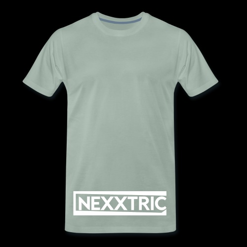 logo blanc NEXXTRIC - T-shirt Premium Homme