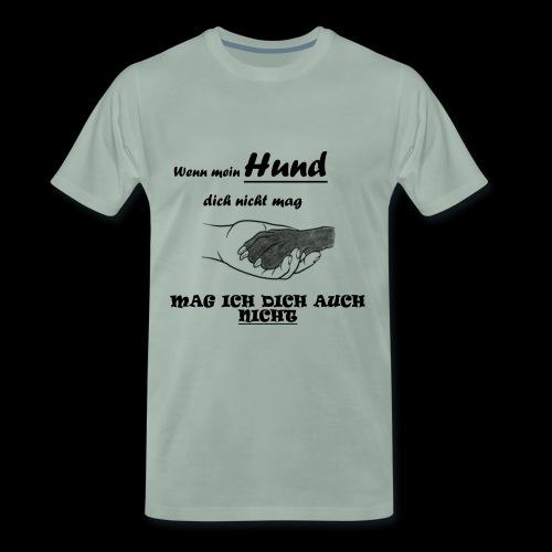 Hundeliebhaber T-shirt - Männer Premium T-Shirt