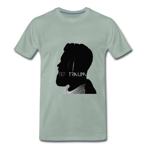 Tief Traum Face - Mannen Premium T-shirt