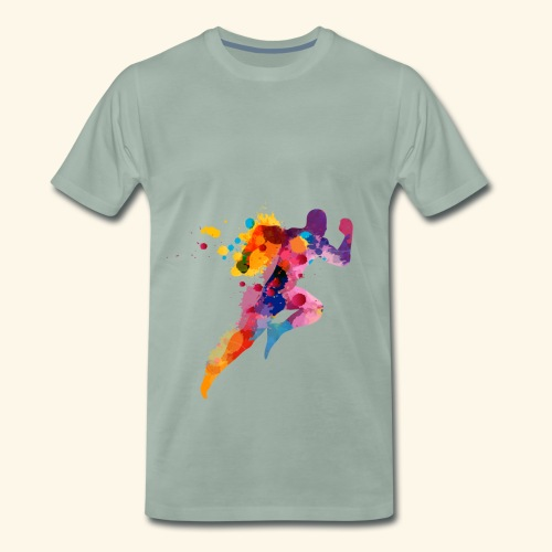 Running colores - Camiseta premium hombre