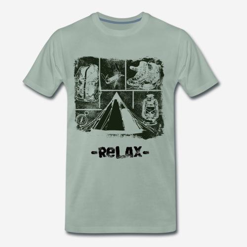 Zrelaksuj się - Koszulka męska Premium