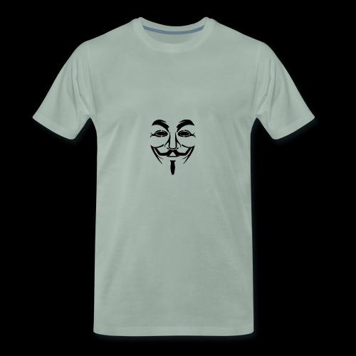 Anonymous Mask - T-shirt Premium Homme