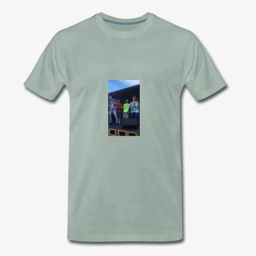 DON! UMUND x LiL BENTLi × Unge Gevinst - Herre premium T-shirt