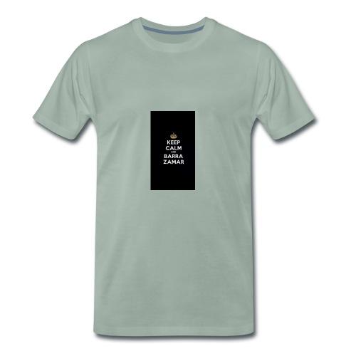 Keep Calm and barra zamer - Männer Premium T-Shirt