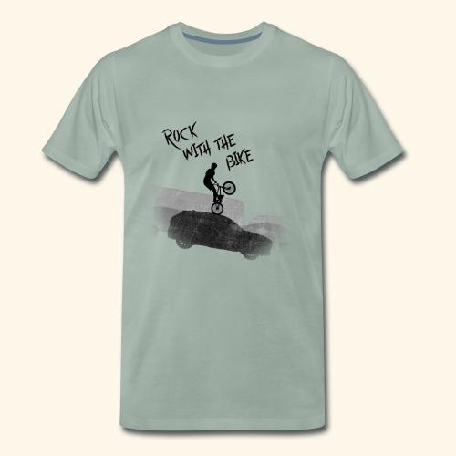 Rock with the Bike - Camiseta premium hombre