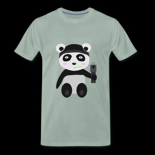 Gangsta-Panda - Männer Premium T-Shirt