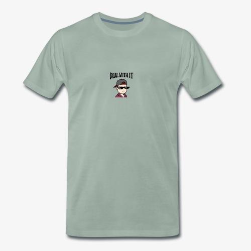 deal with it - Männer Premium T-Shirt