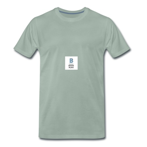 Bexon plays logo merch - Men's Premium T-Shirt