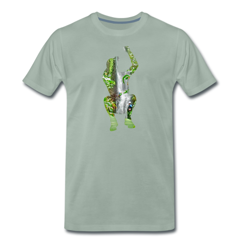 Jump into Adventure - Männer Premium T-Shirt