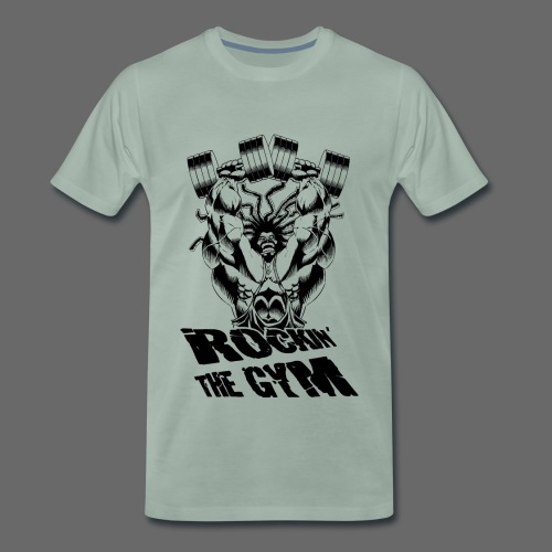 Hoacore - Rockin the Gym - Männer Premium T-Shirt