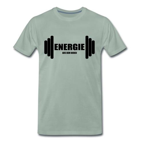 energie aus dem boden - Männer Premium T-Shirt