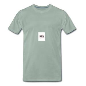 large - Premium-T-shirt herr