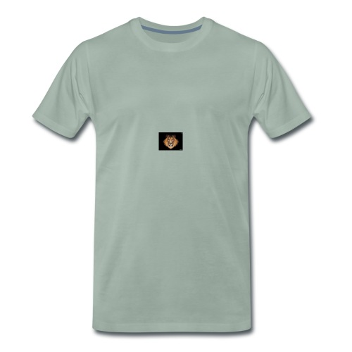 the lion - Premium T-skjorte for menn