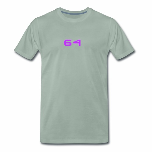 64 LOGO - Men's Premium T-Shirt