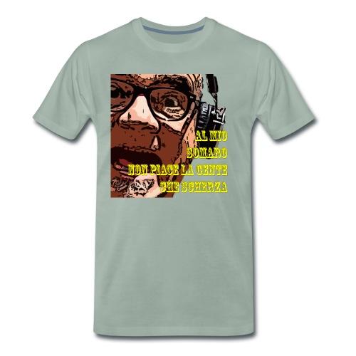Caro Carlo mio somaro - Maglietta Premium da uomo