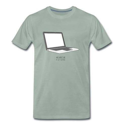 We Are The Future - Premium T-skjorte for menn