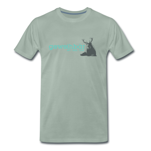 geweihbär colored - Männer Premium T-Shirt