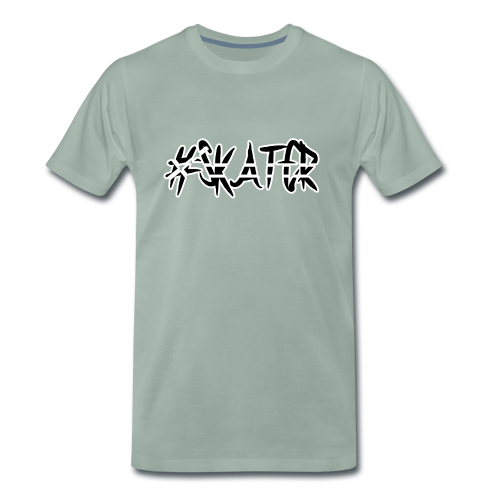 #Skater black - Männer Premium T-Shirt