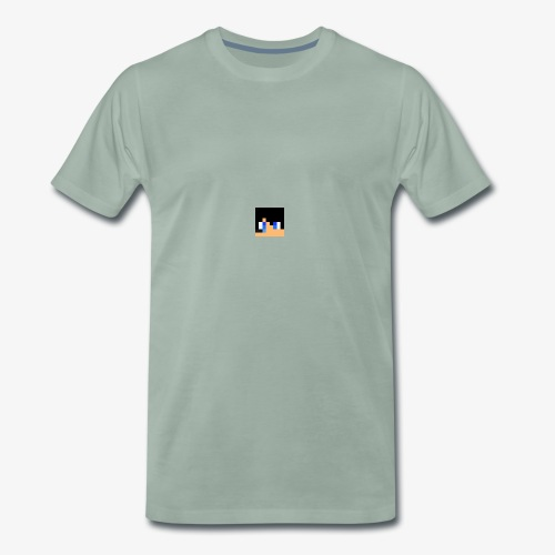 JK Gaming's Minecraft Head - Men's Premium T-Shirt