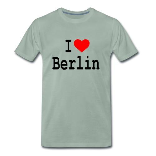 I Love Berlin - Mannen Premium T-shirt