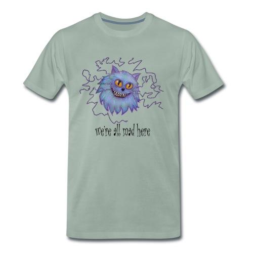 cheshire cat - Men's Premium T-Shirt