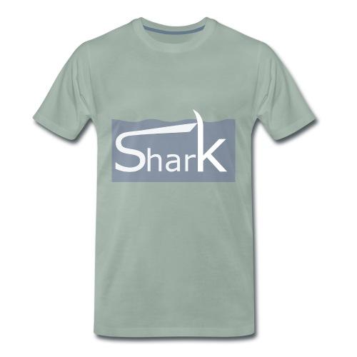 Shark fin - Männer Premium T-Shirt