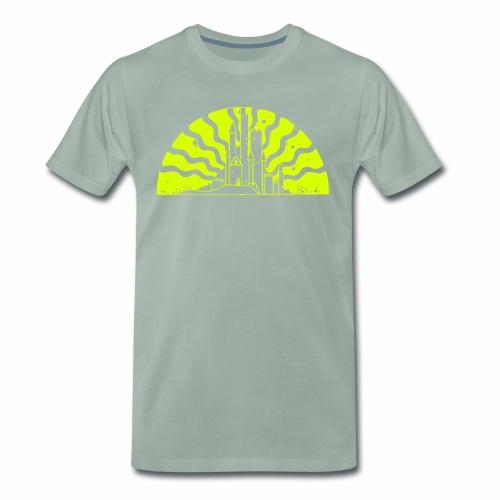 Fairytale Castle Sunrise - Männer Premium T-Shirt