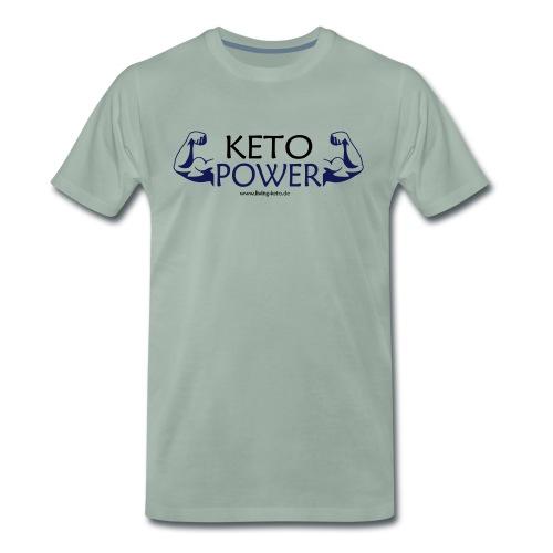 Keto Power - Männer Premium T-Shirt