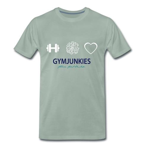 Gymjunkies Hoody Women - Mannen Premium T-shirt