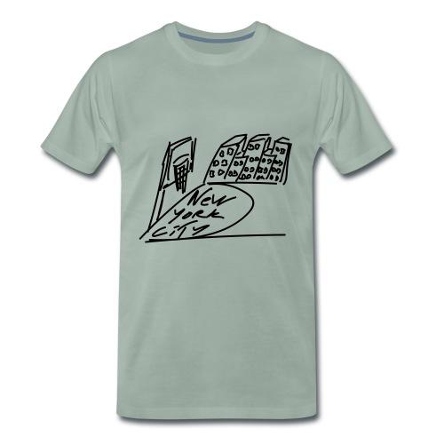 New_York - T-shirt Premium Homme
