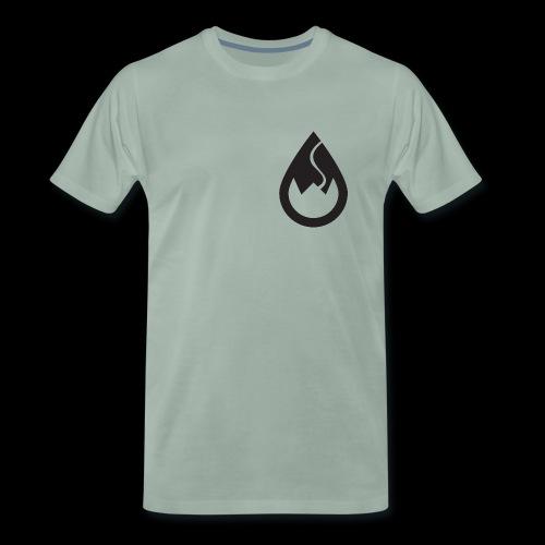 WSC-Logo schwarz - Männer Premium T-Shirt