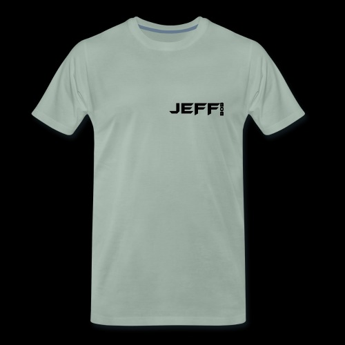 Jeff bob (small logo) - Men's Premium T-Shirt