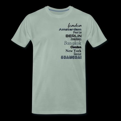 Städte - Länder - Männer Premium T-Shirt