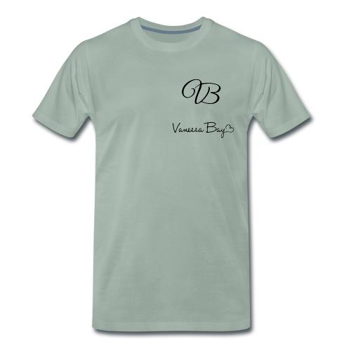 VanessaBayLogoXXXL 1 - Männer Premium T-Shirt