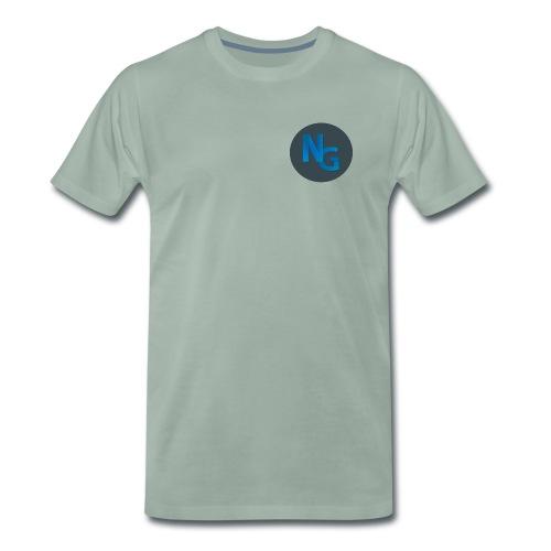 NG Logo - Herre premium T-shirt