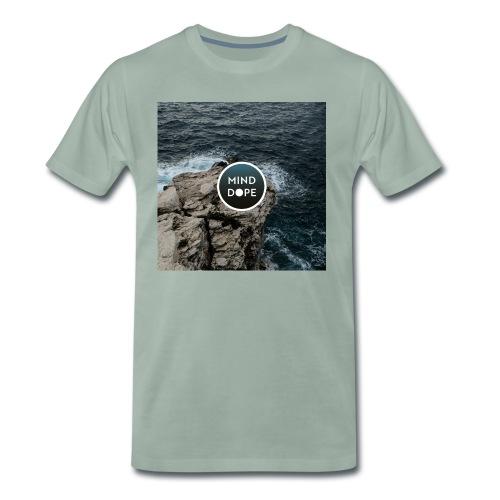 minddope.pictures Cliff-Logo - Männer Premium T-Shirt