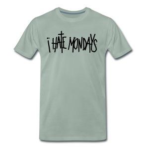 Lundi, je déteste lundi - T-shirt Premium Homme