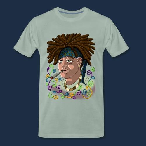JohnnyPotSmoker - Männer Premium T-Shirt