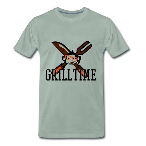 GRILLTIME - Männer Premium T-Shirt