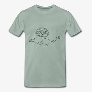 mózg - Koszulka męska Premium