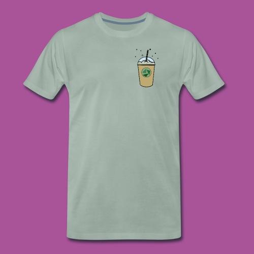 Grüner_Becher - Männer Premium T-Shirt