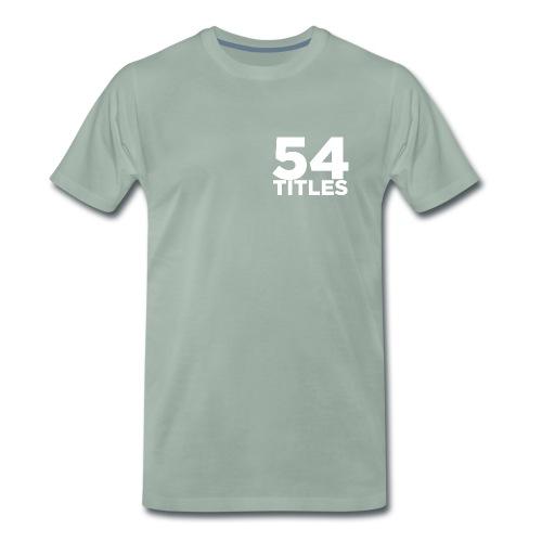 54 Titles - Men's Premium T-Shirt