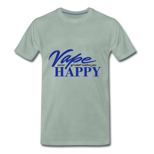 Vape Happy - Männer Premium T-Shirt