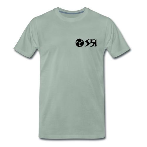 Ronin Simson Wirbel S51 - Männer Premium T-Shirt