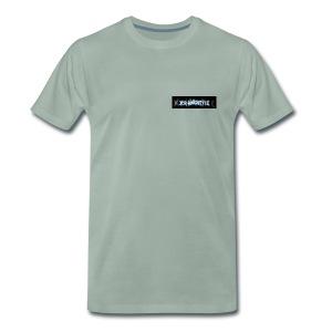 DerHardstyle.ch Kleines Logo - Männer Premium T-Shirt