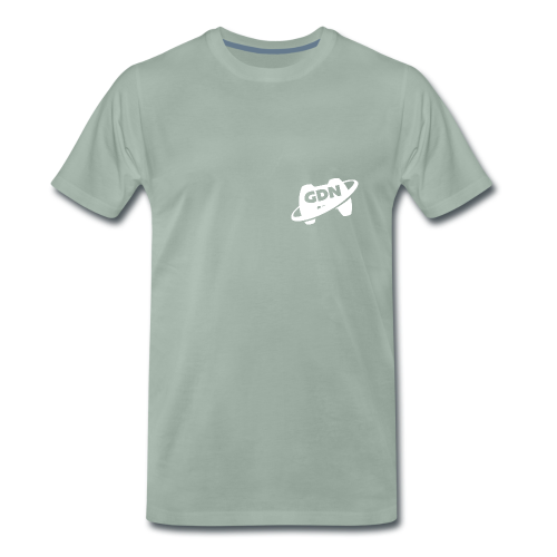 Game Dev Network: White - Men's Premium T-Shirt