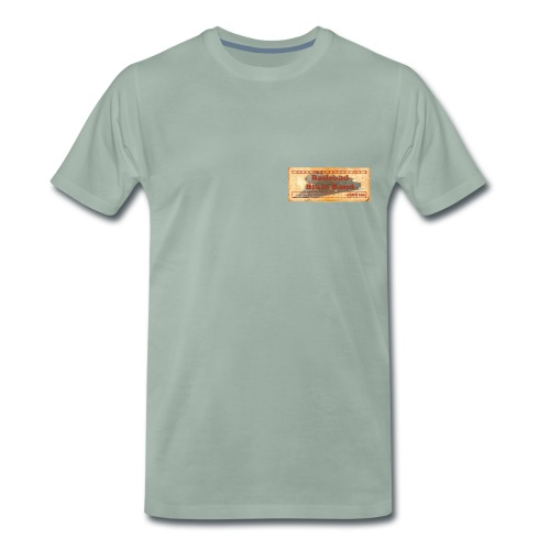 Railroad1 - Men's Premium T-Shirt