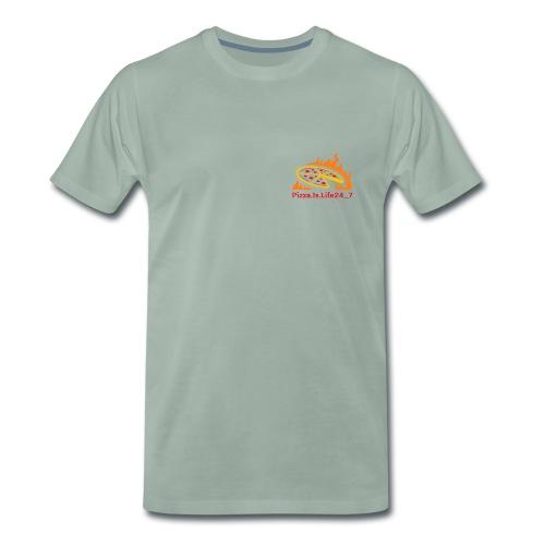 Pizza Logo - Männer Premium T-Shirt