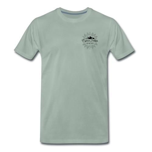 EnglandPeakers black logo - Men's Premium T-Shirt